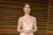 Emmy Rossum Beaded Dress