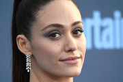 Emmy Rossum Diamond Chandelier Earrings
