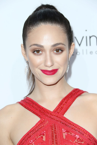 Emmy Rossum Neutral Eyeshadow