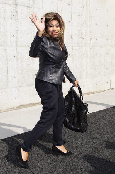 More Pics of Tina Turner Leather Jacket (1 of 9) - Tina Turner Lookbook - StyleBistro