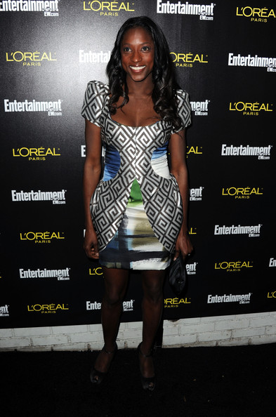 More Pics of Rutina Wesley Print Dress (1 of 3) - Rutina Wesley Lookbook - StyleBistro