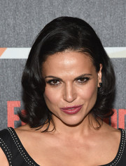 Lana Parrilla kept it classic with this curled bob at the Entertainment Weekly Comic-Con celebration.