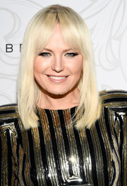 Malin Akerman showed off a sleek lob with center-parted bangs at the Entertainment Weekly SAG nominees celebration.