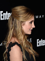 Joanne Froggatt wore a boho half-up hairstyle at the Entertainment Weekly celebration honoring the SAG nominees.