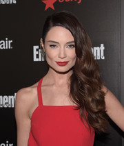 Mallory Jansen attended the Entertainment Weekly SAG Awards nominee celebration wearing a red carpet-worthy side sweep.