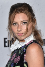 Alyson Michalka worked a messy-sexy ponytail at the Entertainment Weekly Comic-Con party.