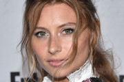 Alyson Michalka Loose Ponytail