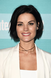 Jaimie Alexander looked edgy-cute wearing this messy bob at the Entertainment Weekly Comic-Con party.
