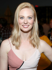 Deborah Ann Woll sported a subtly wavy layered cut at the Entertainment Weekly and Marvel After Dark event.