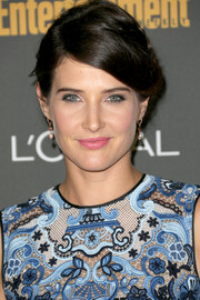 Cobie Smulders styled her hair in a charming braided updo for the Entertainment Weekly pre-Emmy party.