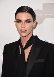Ruby Rose attended the Make Equality Reality Gala rocking a slicked-down side-parted 'do.