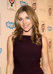 Sarah Chalke looked youthful and pretty with her spiral curls during the Make Equality Reality event.