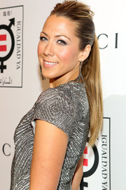 Colbie Caillat pulled her hair back in an edgy ponytail for the Make Equality Reality event.