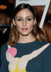Olivia Palermo sported a casual shoulder-length 'do at the New York screening of 'Equalizer 2.'