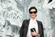 Erin O'Connor Leather Jacket