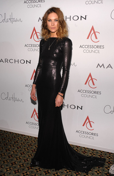 Erin Wasson Evening Dress [clothing,dress,fashion,carpet,hairstyle,lady,shoulder,premiere,little black dress,long hair,arrivals,erin wasson,ace awards,new york city,cipriani 42nd street,accessories council]
