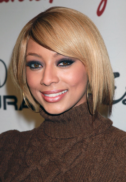Keri Hilson debuted a blond bob while attending the Songs of Hope VI event in Los Angeles. She accented her light color with a few low lights.