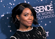 Gabrielle Union looked cute wearing this slightly wavy bob at the Essence Black Women in Hollywood Awards.