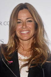 Kelly Bensimon sported her usual center-parted waves when she attended the 'Hear Our Stories' screening.
