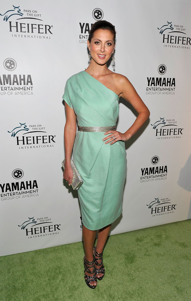 Eva Amurri Martino One Shoulder Dress