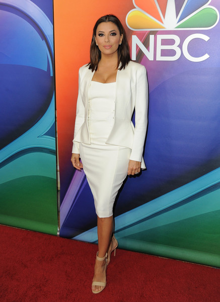 Eva Longoria Skirt Suit
