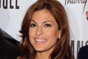 Eva Mendes reveals her new campaign for Angel by Thierry Mugler at IAC Building on June 23, 2011 in New York City.