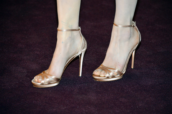 Evan Rachel Wood Strappy Sandals