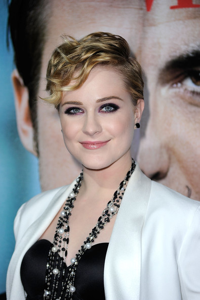 Evan Rachel Wood Smoky Eyes [the ides of march,hair,face,hairstyle,eyebrow,lip,beauty,chin,blond,nose,forehead,evan rachel wood,arrivals,samuel goldwyn theatre,beverly hills,california,columbia pictures,academy of motion picture arts and sciences,premiere]