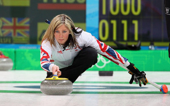 Eve Muirhead Long Straight Cut