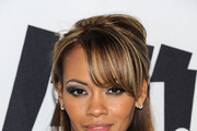 Evelyn Lozada Half Up Half Down