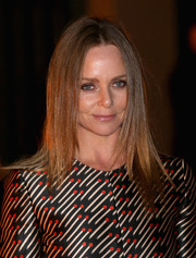 Stella McCartney wore her hair in sleek straight layers when she attended the Global Fund event.