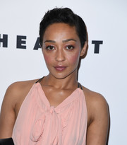 Ruth Negga looked cool with her short side-parted 'do at the Evening Honoring Louis Vuitton event.