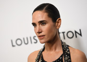 Jennifer Connelly kept it classic with this tight, side-parted bun at the Evening Honoring Louis Vuitton event.