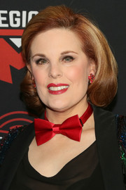 Kat Kramer looked retro-glam with her bob at the Excelsior celebration.