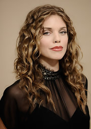 AnnaLynne McCord wore a matte dusty terra cotta shade of lipstick during the 2012 Sundance Film Festival.