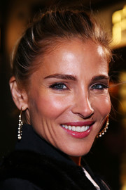 Elsa Pataky wore her hair in a casual ponytail at the Fendi Melbourne flagship store opening.