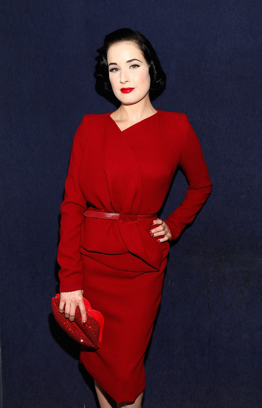 039d237b2e9b More Pics of Dita Von Teese Red Lipstick (3 of 7) - Dita Von Teese Lookbook  - StyleBistro