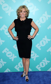 Mary Murphy stuck to a fashion staple when she opted for this little black dress.