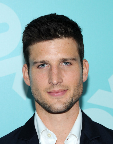 More Pics of Parker Young Men's Suit (1 of 2) - Parker Young Lookbook - StyleBistro [fox 2103,person,man,chin,hairstyle,forehead,white collar worker,facial hair,smile,gentleman,jaw,parker young,new york city,wollman rink - central park,programming presentation post-party]