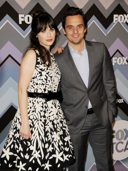 More Pics of Zooey Deschanel Print Dress (5 of 8) - Zooey Deschanel Lookbook - StyleBistro