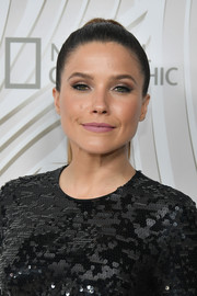 Sophia Bush sported a simple yet stylish ponytail at the Fox Emmy after-party.