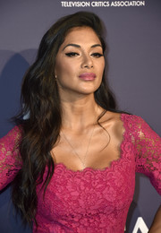 Nicole Scherzinger looked gorgeous with her long wavy hairstyle at the Fox Summer TCA 2018 All-Star Party.