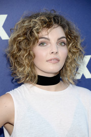 Camren Bicondova looked cool with her mussed-up curls at the Fox Summer TCA Press Tour.