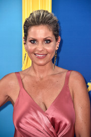 Candace Cameron Bure swept her hair back into an elegant ponytail for the 2018 Teen Choice Awards.