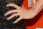 Mary Elizabeth Ellis attended the FXX Network launch wearing gray nail polish.