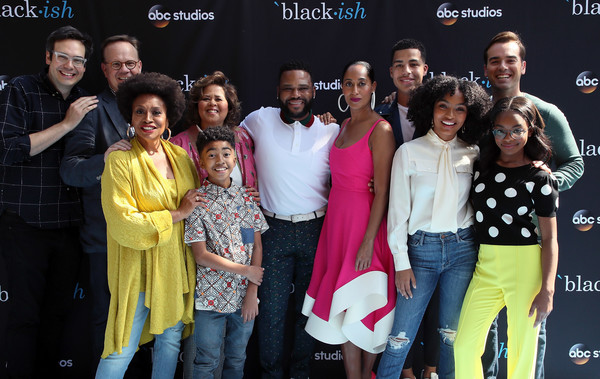 More Pics of Yara Shahidi Ripped Jeans (1 of 8) - Jeans Lookbook - StyleBistro [event,youth,premiere,performance,leisure,team,arrivals,actors,peter mackenzie,nelson franklin,blackish,l-r,fyc,abc,event,event]