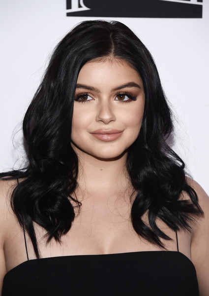More Pics of Ariel Winter Long Wavy Cut (1 of 6) - Long Hairstyles Lookbook - StyleBistro [modern family,hair,face,hairstyle,eyebrow,black hair,shoulder,long hair,chin,layered hair,lip,ariel winter,arrivals,california,hollywood,avalon,abc,fyc,event,fyc event]