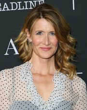 Laura Dern was gorgeously coiffed with these fanned-out waves at the FYC event for 'The Tale.'