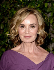 Jessica Lange was gorgeously coiffed with this curled-out bob at the FYC screening of 'American Horror Story: Coven.'