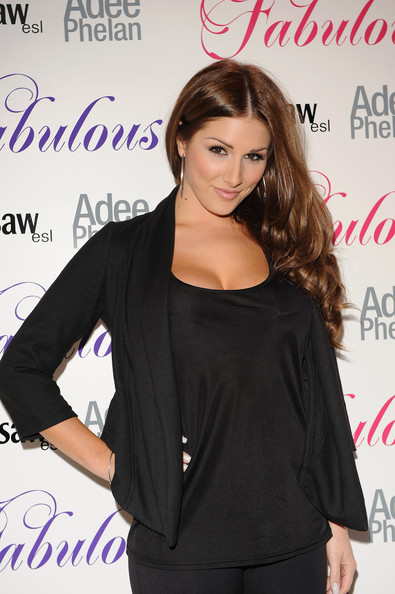 More Pics of Lucy Pinder Sterling Hoops (1 of 2) - Lucy Pinder Lookbook - StyleBistro